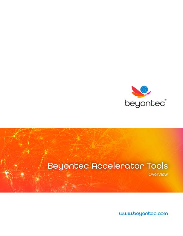 Insurance Accelerator tools